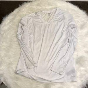 Champion White Long Sleeve Shirt